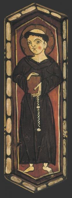 Techumbre Catedral de Teruel. Santo franciscano