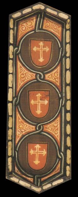 La techumbre de la Catedral de Teruel. Ornamentación heráldica