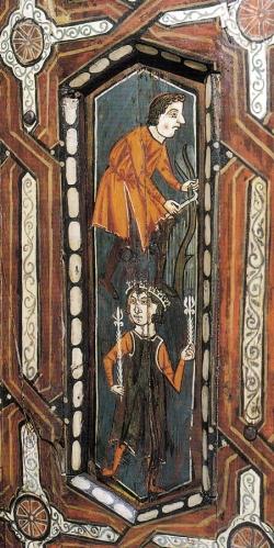 La techumbre de la Catedral de Teruel. Mensario (marzo y abril)