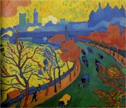 André Dérain: Puente de Westminster. 1906. París. Louvre