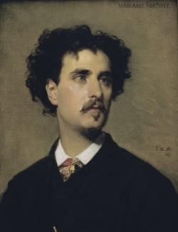 Federico de Madrazo: Retrato de Mariano Fortuny. 1867. Barcelona. Museo de Arte Moderno