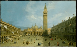 Canaletto: Piazza San Marco. 1720s. Metropolitan Museum of Art, New York City