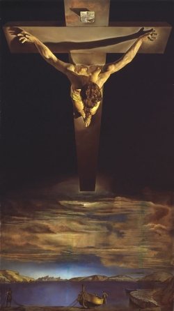 Salvador Dalí: Cristo de San Juan de la Cruz. 1951. Glasgow. Glasgow Art Gallery and Museum