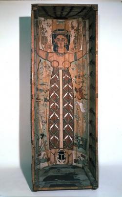 La diosa Nut. Siglo II. Londres, British Museum