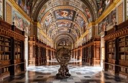 Pellegrino Tibaldi: Biblioteca. 1590-1595. Monasterio de El Escorial. Madrid