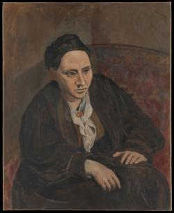 Picasso: Retrato de Gertrude Stein. 1906. Nueva York. Metropolitan Museum of Art
