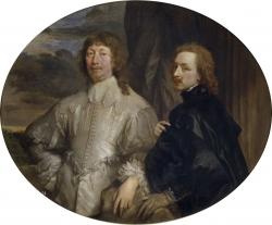 Antonio van Dyck: Sir Endymion Porter y Anton van Dyck. Hacia 1635. Museo del Prado