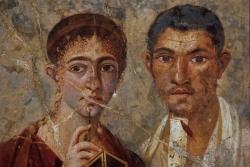 El panadero Proculo y su esposa. Siglo I a.C. Nápoles. Museo Nazionale di San Martino