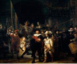 Rembrandt Van Rijn: La Ronda de noche. 1642. Amstredam. Rijsmuseum