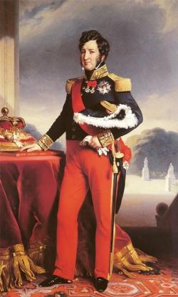 Retrato de Luis Felipe de Orleans