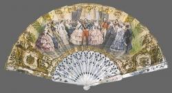 Napoleón III recibe a la reina Victoria