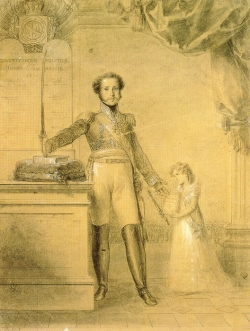 Pedro IV y su hija María II