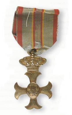 Cruz de distinción