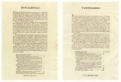 Panfletos en esukera y castellano