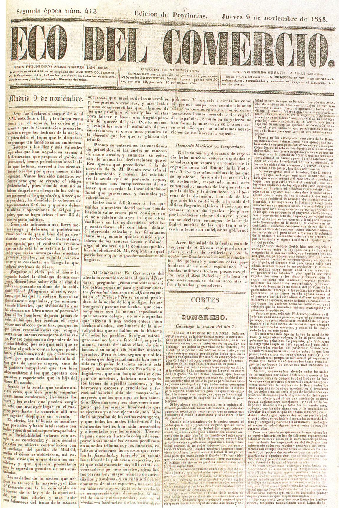 VII. Los partidos y la vida política, 1834-1868