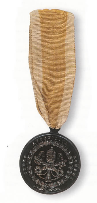 Medalla conmemorativa de la expedición a Italia, 1849