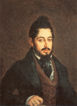 Retrato de Mariano José de Larra