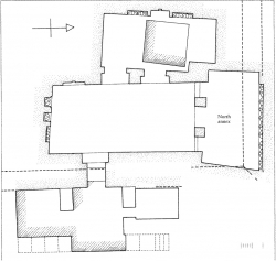 Fig. 26. Plan of underground cult chambers of Queen Mer-si-ankh III, Giza