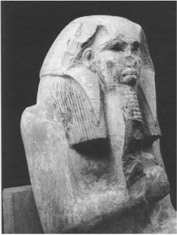 Fig. 29. Detail, Djoser Seated
