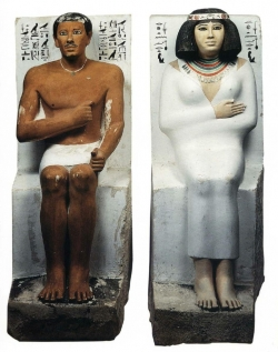 Fig. 31. Ra-hotep and Nofret Seated