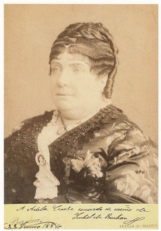A. BARCIA. Isabel II, 22 de junio de 1884