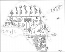 Fig 53. Relief on mace head of King Scorpion