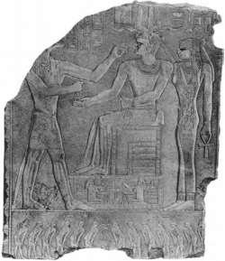 Fig. 55. Wall relief from pyramid temple of Niuserre, Abusir