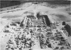 Fig. 58. View of pyramid temple of Sahure