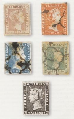 Primeros sellos de Correos