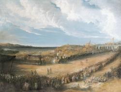 Inauguración del ferrocarril de Langreo