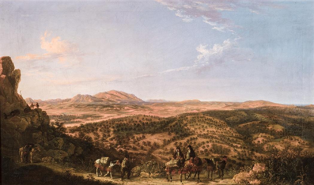 Manuel Barrón: Contrabandistas en la serranía de Ronda, 1859.
