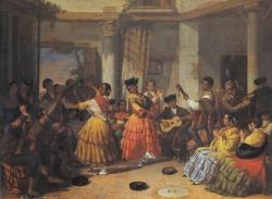 Joaquín Domínguez Bécquer: Baile andaluz, 1834