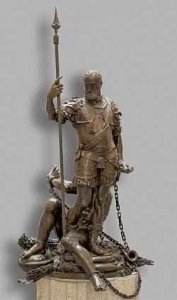 Leone Leoni: Carlos V y el Furor. 1551 – 1555. Museo del Prado. Madrid.