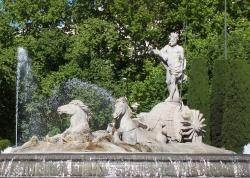 Juan Pascual de Mena: Fuente de Neptuno. Hacia 1770. Madrid