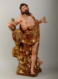 Juan de Juni: San Juan Bautista. 1552. Valladolid. Museo Nacional de Escultura