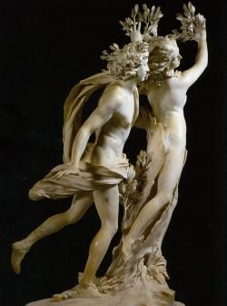 Gian Lorenzo Bernini: Apolo y Dafne. 1622-1625. Roma. Galería Borghese.