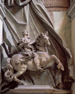 Bernini: Constantino. 1655-1670. Roma. Padua