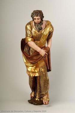 Alonso Berruguete: Profeta Isaías. 1526-1532. Valladolid. Museo Nacional de Escultura