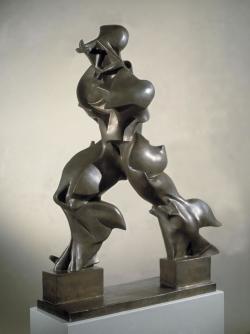 Umberto Boccioni: formas únicas de continuidad en el espacio. 1913