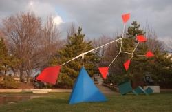 Alexander Calder: Six Dots a mountain. 1956. Hirshhorn Museum and Sculpture Garden