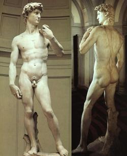 Miguel Ángel: David. 1501. Florencia. Museo de la Academia