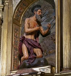 Juan Martínez Montañés: San Jerónimo. 1611. Santiponce. Monasterio de San Isidro del Campo