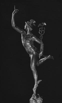 Giambologna: Mercurio. Hacia 1580. Florencia. Museo Bargello