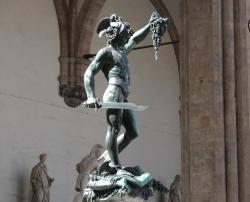 Benvenuto Cellini: Perseo. 1554. Florencia. Loggia dei Lanzi