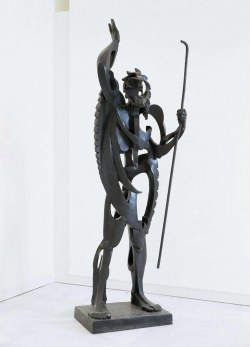 Pablo Gargallo: El Gran Profeta. 1933. Zaragoza. Museo Pablo Gargallo.