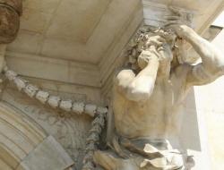 Pierre Puget: Atlante. 1655. Tolón. Portada del ayuntamiento