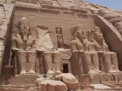 Estatuas de Ramses II. Hacia 1270a.C. Egipto