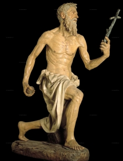 Pietro Torrigiano: San Jerónimo. Hacia 1530. Sevilla. Museo de Bellas Artes.