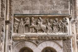 Moissac. Escultura románica
