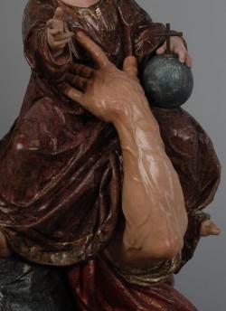 Martínez Monatañes: San Cristóbal (Detalle). 1597. Sevilla. Divino Salvador
